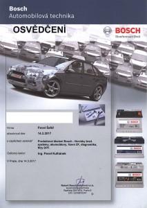 Produktové školení Bosch