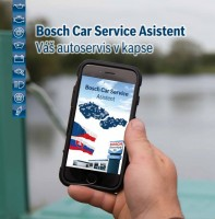 Mobilní aplikace Bosch Car Service asistent