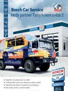 Bosch Car Service partnerem Tatry kolem světa 2