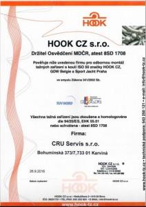 Odborná montáž, prodej a servis tažných zařízení firmy HOOK