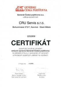 Smluvní servis GENERALI ČESKÁ POJIŠŤOVNA