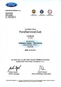Ford Service Club