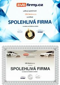 SPOLEHLIVÁ FIRMA 2019-2020