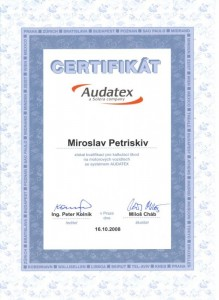 Expertní systém AUDATEX