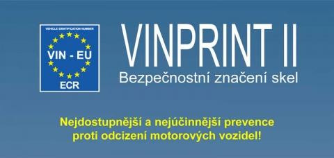Značení autoskel VIN