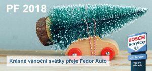 Krásné vánoční svátky přeje Fedor Auto
