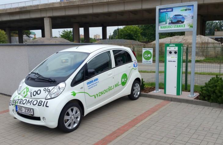 Náš první elektromobil, pro naše zákazníky půjčujeme zdarma