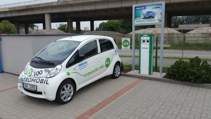 Peugeot ION elektromobil
