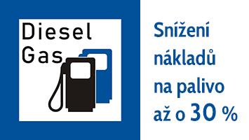 Přestavby vozidel na DieselGas LPG/CNG