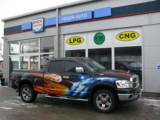 Galerie přestavěných vozidel na LPG, CNG, DieselGas, E-85