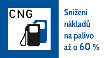 Přestavby vozidel na CNG