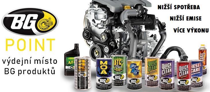 Přípravky BG pro dekarbonizaci motoru