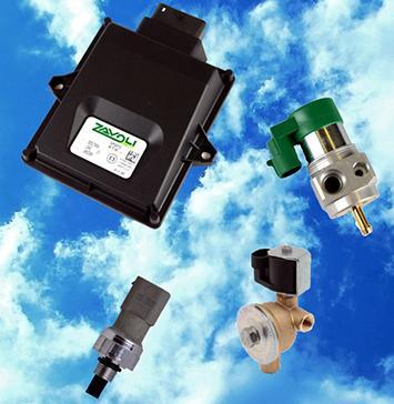 LPG a CNG zařízení a náhradní díly