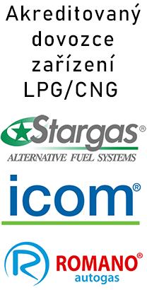 Akreditovaný dovozce zařízení LPG/CNG