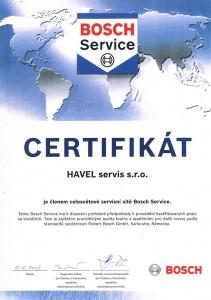 Člen celosvětové servisní sítě Bosch Service