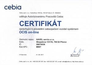 OCIS on-line