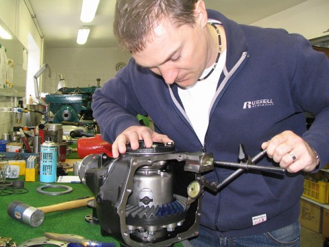 Výroba eloidního ozubení