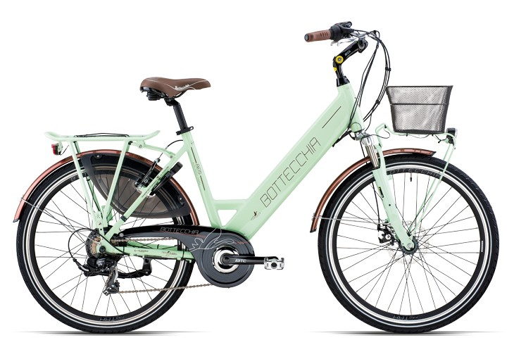 "BE 15 E-BIKE TRK LADY 26"" TX55 7S"