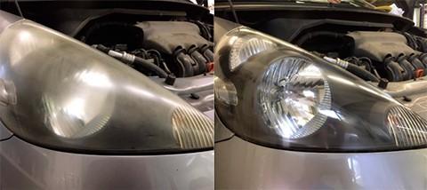 Renovácia svetlometov