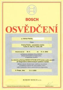 Bosch KTS 500