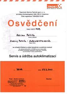 Servis a údržba autoklimatizací