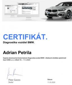 Diagnostika vozidiel BMW