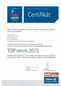 TOP Servis 2015