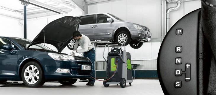 Výmena oleja v automatických prevodovkách